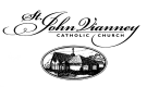 St. John Vianney Catholic Church Logo